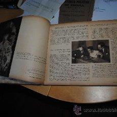 Tauromaquia: MANOLETE. EL ARTISTA Y EL HOMBRE. IMPRIME FOURNIER EN VITORIA. TAUROMAQUIA. BIOGRAFIA GRAFICA.. Lote 34292923