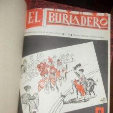 Tauromaquia: REVISTA EL BURLADERO. SEMANARIO GRAFICO. 1966. DEL Nº 99 AL 124. FERIA DE CALI, PALOMO LINARES. Lote 34417274