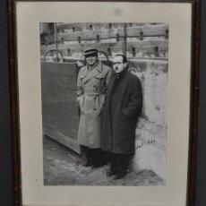 Tauromaquia: FOTOGRAFÍA DEDICADA Y FIRMADA POR UN TORERO FECHADA DEL 1950. ORIGINAL. Lote 34774282