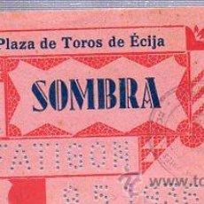 Tauromaquia: ENTRADA PLAZA DE TOROS DE ÉCIJA, 9 MAYO 1936. Lote 35168494