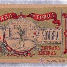 Tauromaquia: ENTRADA PLAZA DE TOROS DE CASTELLÓN, 25 MARZO 1911, CÁDIZ, TIP.LIT. RODRÍGUEZ DE SILVA. Lote 116786735