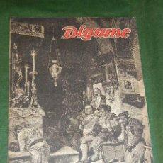 Tauromaquia: SEMANARIO DIGAME - EXTRAORDINARIO DE TOROS, 19 MARZO 1948. Lote 36075779