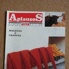 Tauromaquia: REVISTA APLAUSOS. 15 DE ENERO DE 1990. Nº 642. MULETAS Y CAPOTES.. Lote 170933807