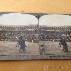 Tauromaquia: PLAZA DE TOROS DE MADRID. FOTOGRAFIA ESTEREOSCOPICA DE LUJO. AÑO 1903.. Lote 36861519