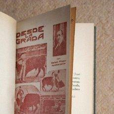 Tauromaquia: DESDE LA GRADA. AÑO 1931. MINGUET (ENRIQUE)