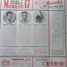 Tauromaquia: PROGRAMA TOROS ZARAGOZA 1956 / FERMIN MURILLO - EL PIO - JOSE GIRON / JOSE LUIS VAZQUEZ. Lote 37158657