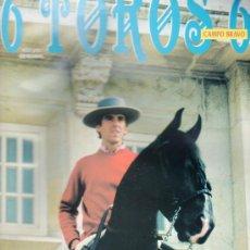 Tauromaquia: REVISTA 6 TOROS 6 Nº 370 - AÑO 2001. HERMOSO DE MENDOZA MIRA AL FUTURO.. Lote 37468445