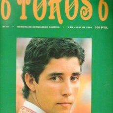 Tauromaquia: REVISTA 6 TOROS 6 Nº 41 - AÑO 1994. PEDRITO DE PORTUGAL RETRATO DEL ARTISTA ADOLESCENTE.. Lote 179551650