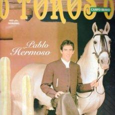 Tauromaquia: REVISTA 6 TOROS 6 Nº 338 - AÑO 2000. TODO MÉXICO CON PABLO HERMOSO DE MENDOZA.. Lote 37473453