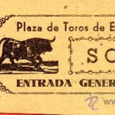 Tauromaquia: ENTRADA PLAZA DE TOROS ECIJA . Lote 38331223