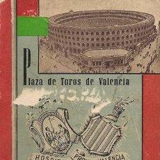 Tauromaquia: MUSEO TAURINO (PLAZA DE TOROS DE VALENCIA) CATÁLOGO 1951. Lote 38539683