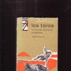 Tauromaquia: LOS TOROS, LA FIESTA NACIONAL ESPAÑOLA /POR: JOSÉ MARTÍNEZ SALVATIERRA. Lote 38945564