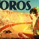 Tauromaquia: LIBRO TOROS, VISION GRAFICA FIESTA ESPAÑOLA 1932, ESPAÑOL FRANCES INGLES, VER FOTOS , ORIGINAL. Lote 38978876