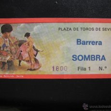 Tauromaquia: C4 ENTRADA PLAZA DE TOROS SEVILLA 1984. Lote 40300117