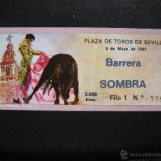 Tauromaquia: C4 ENTRADA PLAZA DE TOROS SEVILLA 1984. Lote 40300126