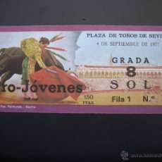 Tauromaquia: C ENTRADA PLAZA DE TOROS SEVILLA 1977. Lote 40394619