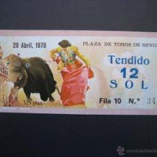 Tauromaquia: C ENTRADA PLAZA DE TOROS SEVILLA 1976. Lote 40394929