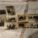 Tauromaquia: LOTE DE 9 FOTOGRAFIAS ANTIGUAS DE LOS GRANDES DEL TOREO. Lote 41089026