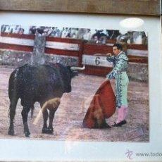 Tauromaquia: TOROS, TAUROMAQUIA, FOTO COLOREADA GOYESCA RONDA ANTONIO ORDÓÑEZ. Lote 41201204