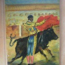 Tauromaquia - Oleo con torero. - 41225347