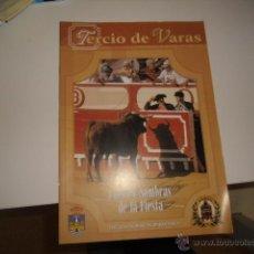 Tauromaquia: TERCIO DE VARAS LUCES Y SOMBRAS DE LA FIESTA. Lote 54237417