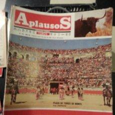 Tauromaquia: REVISTA TOROS - SEMANARIO TAURINO APLAUSOS - 1984 - N 349 - PLAZA TOROS NIMES. Lote 42249987
