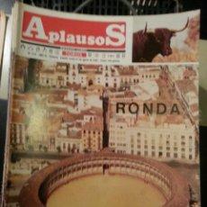 Tauromaquia: REVISTA TOROS - SEMANARIO TAURINO APLAUSOS - 1987 - N 518 - PLAZA DE TOROS RONDA. Lote 42250464