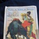 Tauromaquia: CARTEL DE TOROS FERIA DE SEVILLA AÑO 1936. Lote 43381597