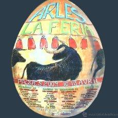 Tauromaquia: CARTEL TOROS FERIA DE ARLES 2009. DISEÑO DE MARK ALSTERLIND. Lote 43507122