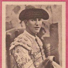Tauromaquia: CARLOS ARRUZA. ALBUM BIOGRAFICO TAURINO. EDICIONES LARRISAL. CURRO MELOJA 1945.. Lote 43660378