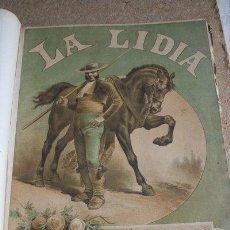 Tauromaquia: LA LIDIA. REVISTA TAURINA. AÑO VII, Nº 1 (1 DE ABRIL DE 1888) A Nº 37 (23 DE DICIEMBRE .... Lote 45485021