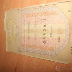Tauromaquia: ENTRADA DE TOROS DE MADRID GRAN CORRIDA DE LA BENEFICENCIA 1910. Lote 46035260