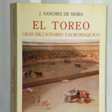 Tauromaquia: EL TOREO.GRAN DICCIONARIO TAUROMAQUICO. Lote 46232270