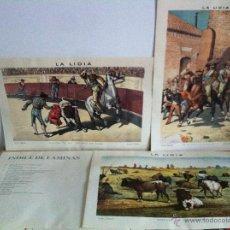 Tauromaquia: CROMOS DE LA LIDIA. 6. MIGUEL BÁEZ -LITRI-. ANTONIO DE HORNA. DE HORNA EDITORES. 14 LÁMINAS. TOROS.. Lote 46462280