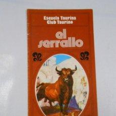 Tauromaquia: ESCUELA TAURINA CLUB TAURINO EL SERRALLO. TAFALLA. NAVARRA. TDKP1. Lote 46591485