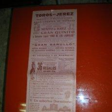Tauromaquia: PLAZA DE TOROS DE JEREZ DE LA FRONTERA.ESPECTACULO TAURINO-CÓMICO NOCTURNO.AÑO 1956. Lote 47240507