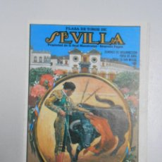 Tauromaquia: PROGRAMA PLAZA DE TOROS DE SEVILLA. LA MAESTRANZA. CON TODAS LAS CORRIDAS FERIA ABRIL 1991 TDKP2. Lote 47310446