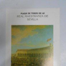 Tauromaquia: PROGRAMA PLAZA DE TOROS REAL MAESTRANZA DE SEVILLA. 22 FERIA DE ABRIL 1990. ESPARTACO LITRI... TDKP2. Lote 47326001