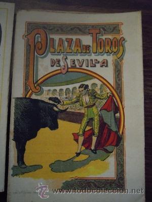 Tauromaquia: Colección de 25 programas de mano de la temporada 1914 de la Plaza de Toros de Sevilla. - Foto 4 - 47780997