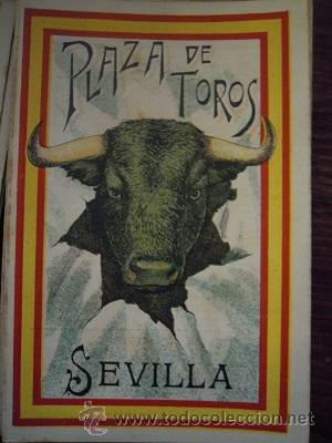 Tauromaquia: Colección de 25 programas de mano de la temporada 1914 de la Plaza de Toros de Sevilla. - Foto 5 - 47780997