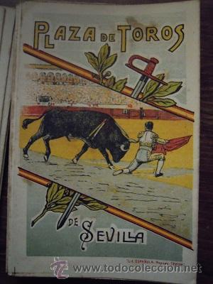Tauromaquia: Colección de 25 programas de mano de la temporada 1914 de la Plaza de Toros de Sevilla. - Foto 6 - 47780997