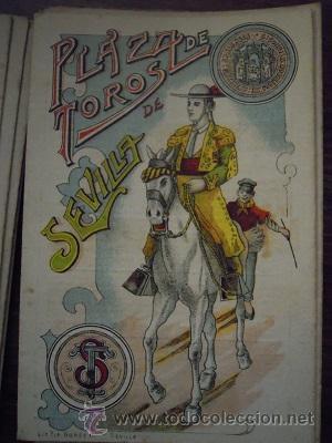 Tauromaquia: Colección de 25 programas de mano de la temporada 1914 de la Plaza de Toros de Sevilla. - Foto 7 - 47780997
