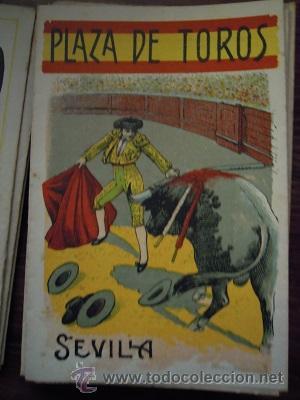 Tauromaquia: Colección de 25 programas de mano de la temporada 1914 de la Plaza de Toros de Sevilla. - Foto 8 - 47780997