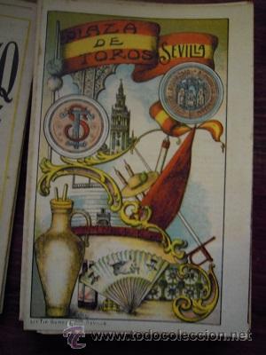 Tauromaquia: Colección de 25 programas de mano de la temporada 1914 de la Plaza de Toros de Sevilla. - Foto 9 - 47780997
