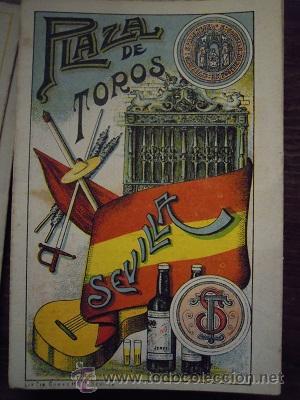 Tauromaquia: Colección de 25 programas de mano de la temporada 1914 de la Plaza de Toros de Sevilla. - Foto 11 - 47780997
