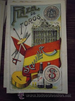 Tauromaquia: Colección de 25 programas de mano de la temporada 1914 de la Plaza de Toros de Sevilla. - Foto 15 - 47780997