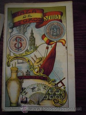 Tauromaquia: Colección de 25 programas de mano de la temporada 1914 de la Plaza de Toros de Sevilla. - Foto 16 - 47780997