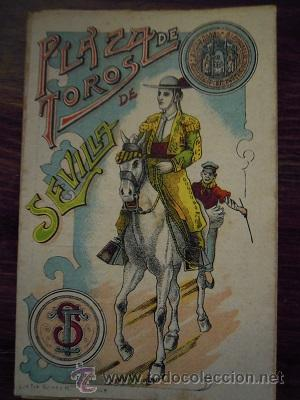 Tauromaquia: Colección de 25 programas de mano de la temporada 1914 de la Plaza de Toros de Sevilla. - Foto 17 - 47780997