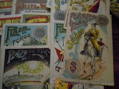 Tauromaquia: Colección de 25 programas de mano de la temporada 1914 de la Plaza de Toros de Sevilla. - Foto 18 - 47780997