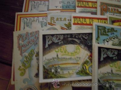 Tauromaquia: Colección de 25 programas de mano de la temporada 1914 de la Plaza de Toros de Sevilla. - Foto 19 - 47780997
